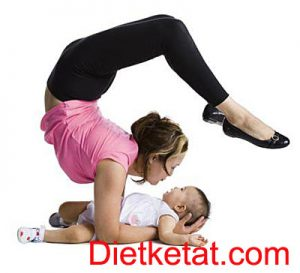 tips Diet pasca melahirkan anak